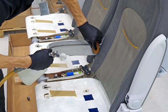 lennuki keemiline puhastus