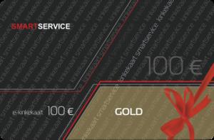 Kinkekaart SMARTSERVICE GOLD
